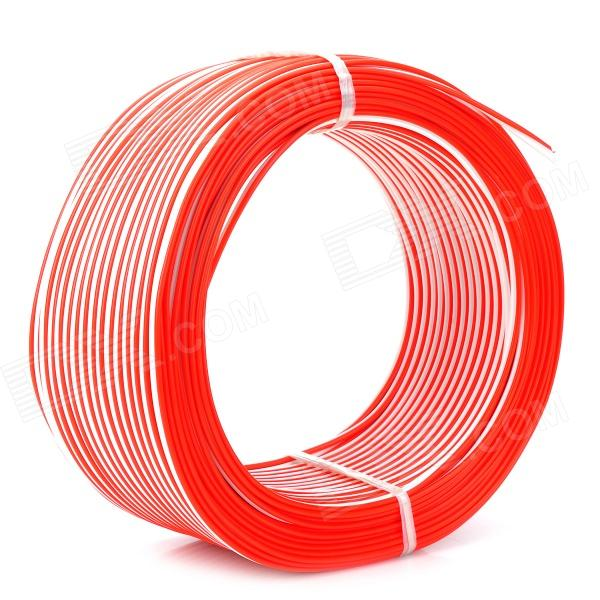 Hi-Fi OFC 12AWG Audio Transmission Speaker Connection Red / White Cable (80m)