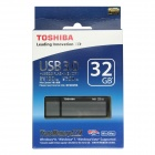 Toshiba TransMemory MX USB 3.0 Flash Drive Disk - Black + Grey (32GB / Read Speed 130MB/sec)