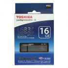 Toshiba TransMemory MX USB 3.0 Flash Drive Disk - Black + Grey (16GB / Read Speed 130MB/sec)