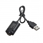 HH-050 USB Charger for EGO Electronic Cigarette - Black (32cm-Cable)