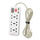 Relliance 998 EU Plug Multifunction Extension Socket Power Strip - White