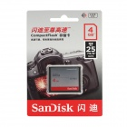 SanDisk Ultra CompactFlash CF Memory Card - Silver (4GB / 167X)