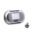 "PORTWORLD MY-700 2.5"" TFT 2.0 MP 150 Degree View Angle Electronic Peephole Viewer - Silver (2 x AA)"