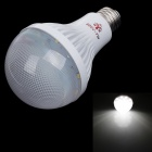 NIUDEHEN E27 7W 240lm 6500K 20 x SMD 2835 LED White Light Energy-Saving Bulb - White (AC 150~260V)
