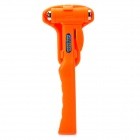 2-in-1 Car Emergency Safety Hammer / Sear Belt Cutter - Orange
