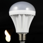 E27 9W 3500K 500lm 32 x SMD 2835 LED Warm White Light Bulb - Weiß (220V)