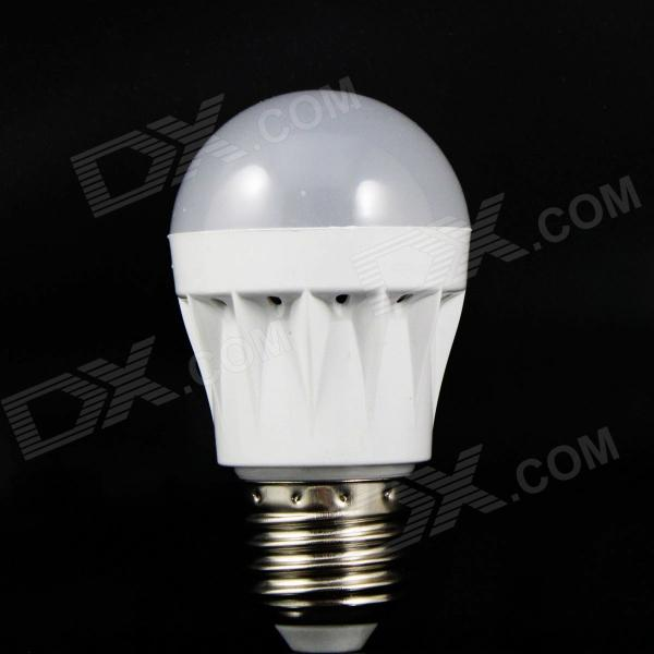 E27 3W 160lm 6500K 10 x SMD 2835 LED White Light Lamp Bulb - White (220V)