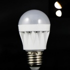 E27 3W 160lm 3500K 10 x SMD 2835 LED Warm White Light Lamp Bulb - (220V)