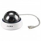 "Kw-cctv Kw-898 1/3"" Color CCD 700TVL CCTV Camera w/ 22-IR LED - White + Black"