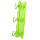 Stylish ABS PP Ceiling Hanging Hook - Green