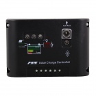 PMW Single Channel Output 12V 10A Solar Charge Controller - Black