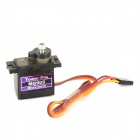 MG90S Metal Geared Micro Servo for Plane Helicopter Car Boat - Red + Orange + Black