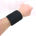 Self-Heating Magnetic Therapy Pain Relief  Wrist Band - Black (2 PCS)