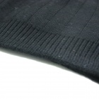 Cashmere Wool Body Waist Warmer Support Waistband - Black