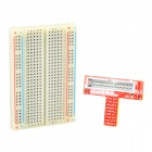 Raspberry Pi Expansion DIY Kit (Extension Cable + Breadboard + GPIO Adapter Plate) - Red + White