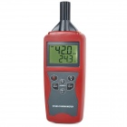 TH821 Digital High Accuracy Hygro-thermometer - Dark Grey + Red