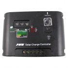 PMW Single Channel Output 12V 30A 360W Solar Charge Controller - Black