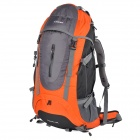 Creeper YD-183 Outdoor Nylon Mountaineering Backpack Bag - Orange + Black (60L)