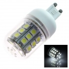 G9 5W 280lm 5500K 30 x SMD 5050 LED White Light Lamp Bulb - White (AC 110~120V)
