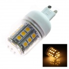G9 5W 280lm 2500K 30 x SMD 5050 LED Warm White Light Lamp Bulb - White (AC 110~120V)