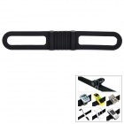 Lichao 8112705 Multifunctional Elastic Silicone Fastening Band Strap for Bicycle - Black
