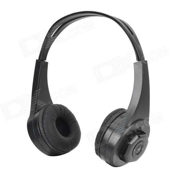 Qinyin MD-333 Multifunction MP3 Player Headset Headphone w/ TF Slot ks 508 mp3 player stereo headset headphones w tf card slot fm black