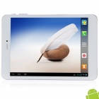 "AMPE A80 7.85"" IPS Android 4.1.2 Quad Core 3G Phone call Tablet PC w/ 1GB RAM, 16GB ROM, GPS - White"