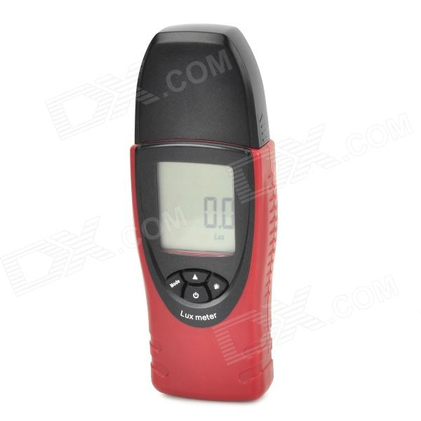 ST8050 Portable Digital Light 0.1~30000 Lux. Meter Illuminometer - Red Brown+ Black tenamrs yf 172 lcd display digital lux meter illuminometer light meter