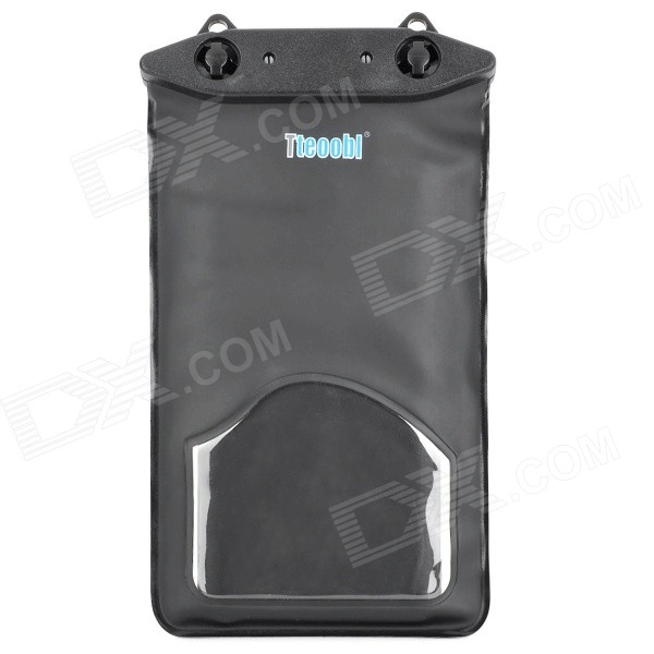 Tteoobl T-02L Universal Waterproof PVC Phone Bag - Black