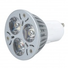 TOHDA TH-GU10-3YN GU10 3W 180LM 3500K Warm White LED Spotlight - Silver (AC 85~265V)