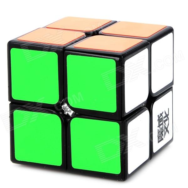 YongJun YJ8208 2x2x2 Brain Teaser Magic IQ Cube for Match - White + Black + Multicolored dayan mf8 4x4x4 brain teaser magic iq cube