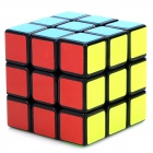 YongJun YJ8208 3x3x3 Brain Teaser Magic IQ Cube for Match - White + Black + Multicolored