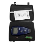 "SM6234E 2.2"" Screen 5 Digits Photoelectric Digital Tachometer - Black + Blue (3 x AA)"