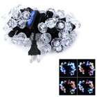 ZnDiy-BRY TL-2 Diamond Crystal Ball Style 12.5W 50-LED Multi-Color Light String (EU Plug / 220V)