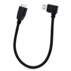 90 Degree Bend USB to Micro V3.0 USB 9-pin Charging/Data Cable for Samsung Galaxy Note 3 N9000
