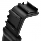 Video Camera Flash Lamp Bracket w/ Standard Hot Shoe Slot - Black