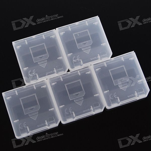 Protective Game Card Cartridge Cases for NDSi/NDS/NDS Lite (5-Pack)