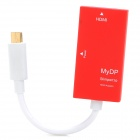 Slimport to HDMI Converter Adapter for Google Nexus 4/ LG optimus G pro + More - Red
