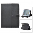 "Universal Flip-open PU Leather Case w/ Holder for 9.7"" Tablet PC - Black"