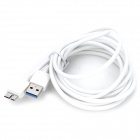 Micro USB 9-Pin to USB 3.0 Charging + Data Transmission Cable for Samsung Note 3 N9000 (200cm)