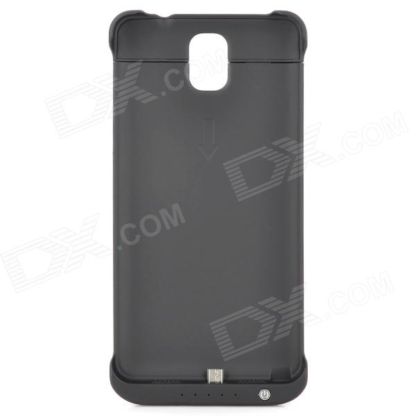External 3800mAh Power Battery Charger Back Case for Samsung Galaxy Note 3 - Black