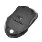 JiTe 3233 2.4GHz Wireless USB 2.0 1000/1600DPI Mouse - Black (2 x AAA)