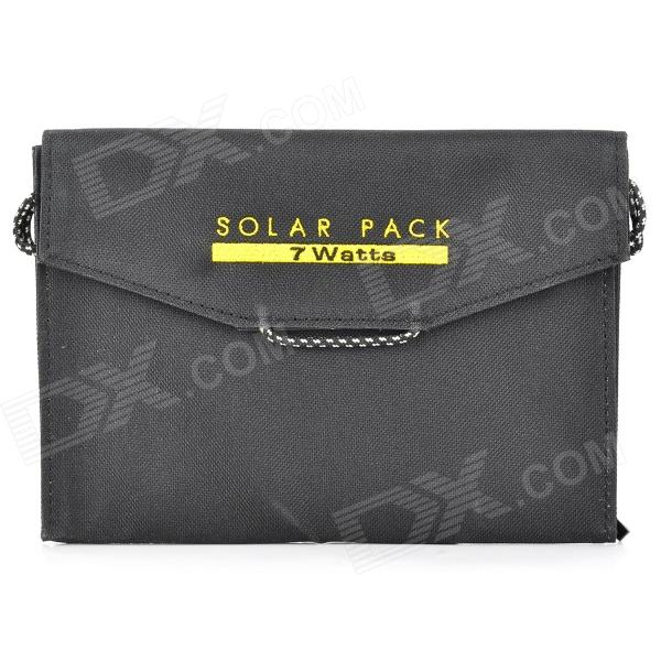 BSV BSV-SC007 Portable Solar Charger Bag - Black bsv bsv sc007 portable solar charger bag black