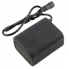 Impermeable 8.4V 5400mAh recargable 2-en-Series-3-en paralelo Li-ion 18650 Battery Pack
