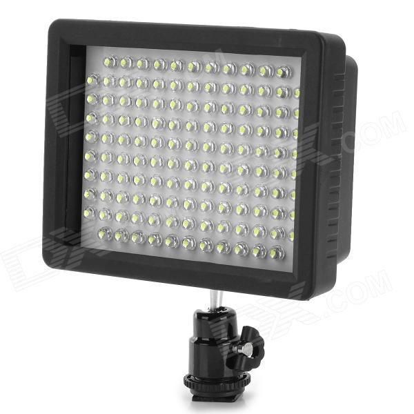 WanSen W126 Universal 10W 960lm 3200K 126-LED Video Camera Light for Canon / Nikon + More - Black