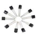 16-in-1 DIY Common Use Semiconductor Audion Triode Set - Black + Silver (160 PCS)