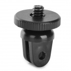 "Universal 1/4"" Mini Tripod Mount Adapter for Camera - Black"