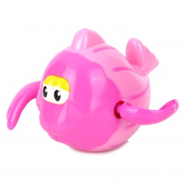 Funny Fish Style Bath Toy for Baby - White + Blue