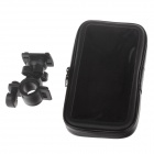 M01 360 Degree Rotation Bracket w/ Waterproof PU Leather Bag for Samsung Galaxy Mega 6.3 i9200