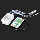 RGB IR Remote Controller Box for SMD 5050 LED Light Strip - White (DC 12V)